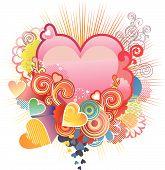 Love Heart / Valentine'S Or Wedding / Vector