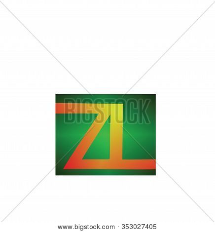 Zal Letter Icons. Zal Monogram Logo. Signs Of Technology, Company, Trademark. Initial Concepts Are S