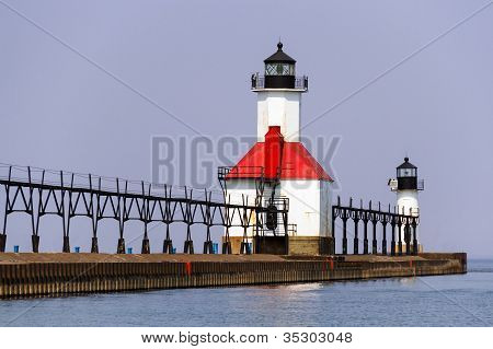 St. Joseph, Michigan North Pier Lights