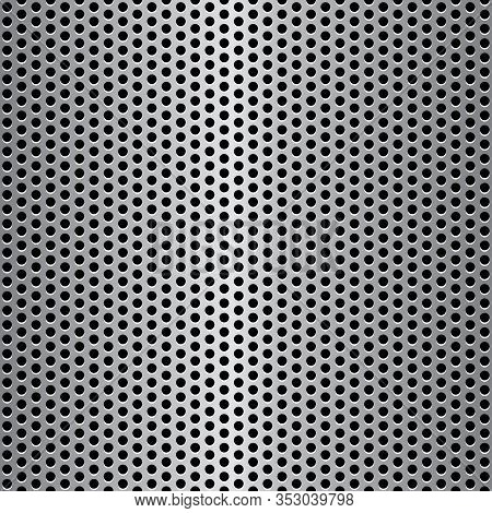 Vector Seamless Illustration Of Speaker Grill Texture