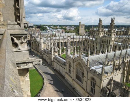 Oxford University From Above