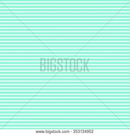 Stripe Pattern. Vector Illustration. Blue And White Background. Horizontal Stripes Pattern.