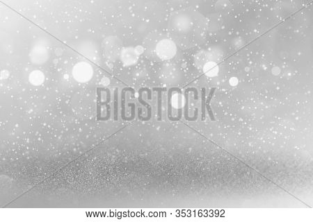 Fantastic Glossy Abstract Background Glitter Lights With Sparks Fly Defocused Bokeh - Festal Mockup