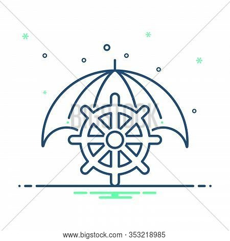 Mix Icon For Marine-insurance Marine Insurance  Marin Cargo