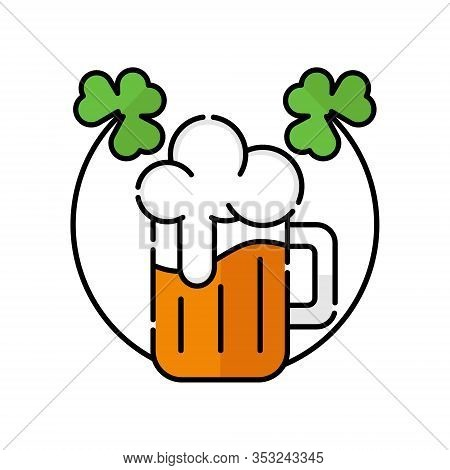 St. Patricks. St. Patricks icon. St. Patricks vector. Beer icon vector. Beer logo. St. Patricks symbol. St. Patrick's Day icon. St. Patricks web icon. St. Patrick's Day vector icon trendy flat symbol for website, sign, mobile, app, UI.