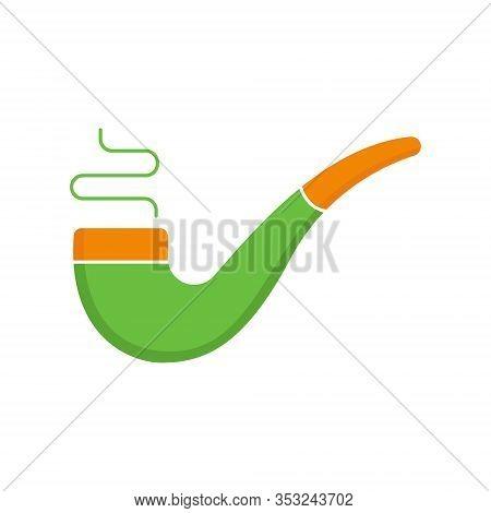 St. Patricks. St. Patricks icon. St. Patricks vector. Smoke pipe icon vector. St. Patricks Smoke pipe symbol. St. Patrick's Day icon. St. Patricks web icon. St. Patrick's Day vector icon trendy flat symbol for website, sign, mobile, app, UI.