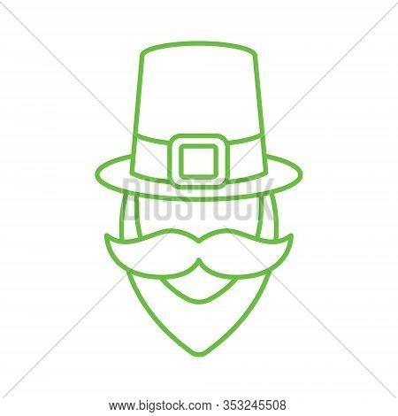 St. Patricks. St. Patricks icon. Leprechaun vector. Leprechaun icon vector. Leprechaun logo. St. Patricks symbol. St. Patrick's Day icon. St. Patricks web icon. St. Patrick's Day vector icon trendy flat symbol for website, sign, mobile, app, UI.