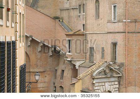 Ancient Buildings Of Vatican City