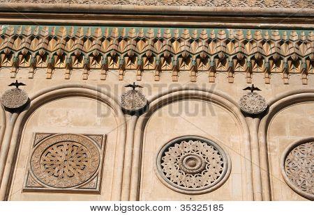Richly Ornamented Facade