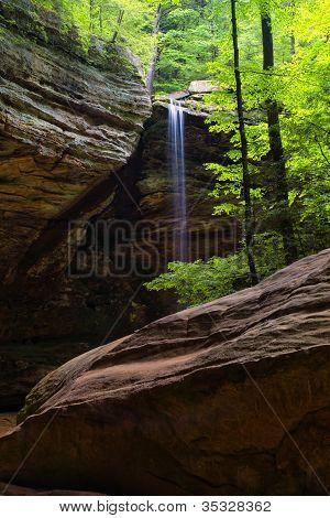 Waterfall at Ash Cave