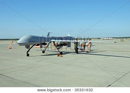 MQ-1 Predator Drone on display