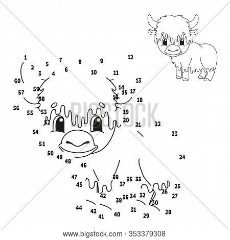 Dot Dot. Animal Yak. Vector & Photo (Free Trial) Bigstock