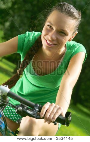 Cycling Girl