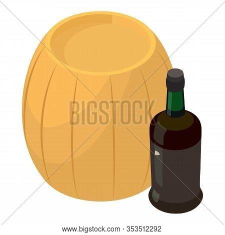 Winemaking Icon. Isometric Illustration Of Winemaking Vector Icon For Web