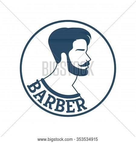 Banner Hairdressing Services For Fashion People. Male Haircuts And Skin Care Scalp And Face Appearan