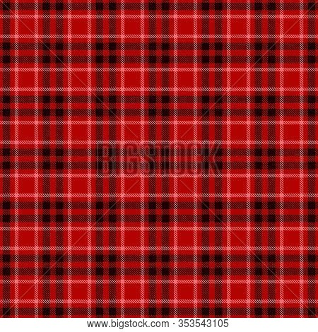 Tartan  Plaid  Seamless Pattern. Blue  Flannel  Shirt Patterns. Trendy Tiles Vector Illustration For