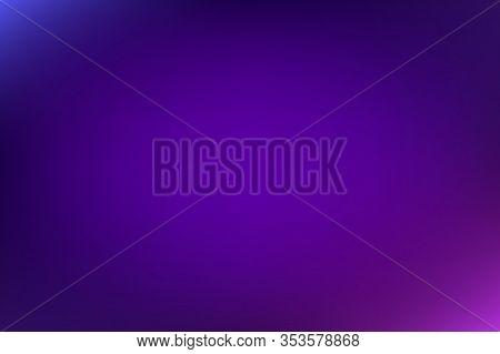 Abstract Gradient Empty Blurred Violet Background. Pink, Blue, Purple, Violet Gradient