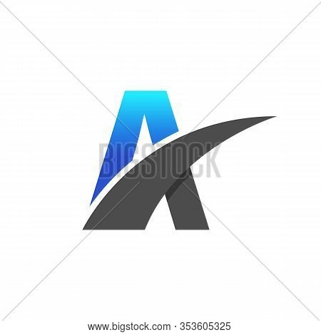 Initial Letter A Logo Design