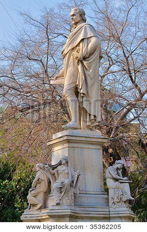 Statue Of Ioannis Varvakis