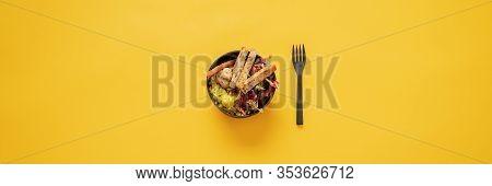 Tasty And Delicious Vegan Buddha Bowl