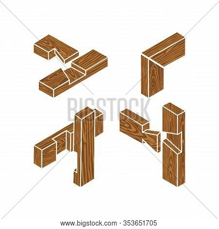 Wooden Joints. The Butt Joint Is An Easy Woodworking Joint. The Four Basic Types Of Joints