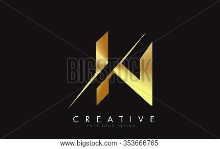 In, I, N, Letter, Singular, Logo, Corporate, Business, Concept, Vector, Sign, Symbol, Template, Elem