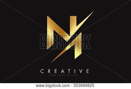 N, I, Ni, Letter, Singular, Logo, Corporate, Business, Concept, Vector, Sign, Symbol, Template, Elem