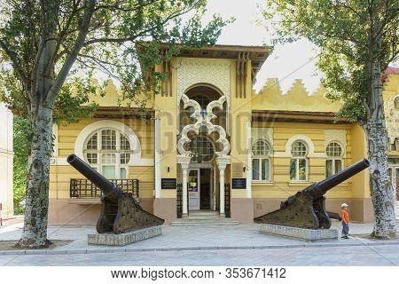 Evpatoria, Crimea, Russia-september 12, 2019: Beautiful Building Of The Evpatoria Museum Of Local Lo