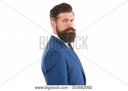 Business Reputation. Formal Fashion. Handsome Businessman. Agility Made Possible. Businessman Formal