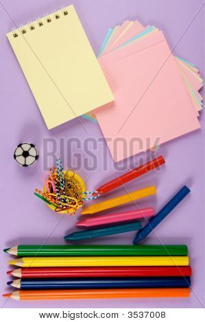 Crayons, Paper, Pencil