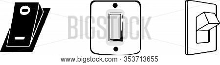 Switch Icon Isolated On White Background Ui, Vector, Web