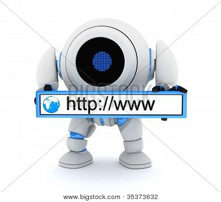 Robot And Www Address