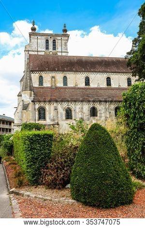 Beauvais, France - July 08, 2019: Eglise Saint Etienne Or Saint Etienne Church, Ancient Catholic Chu