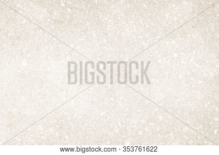Art Concrete Or Stone Texture For Background. Cream And White Colors Old Grunge Wallpaper Texture Se