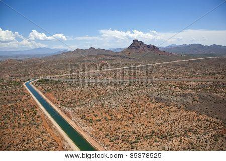 Central Arizona Project Near Scottsdale, Arizona