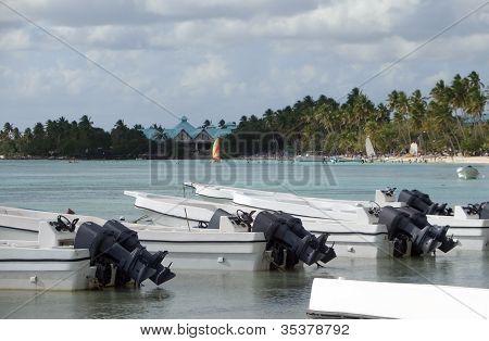 Sea And Motor Boats
