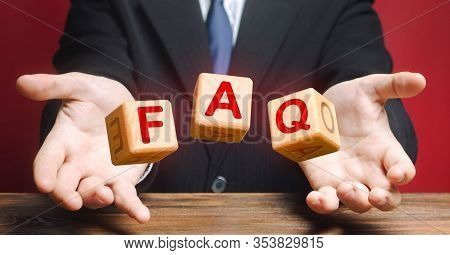 Cubes Thrown By A Official Make Word Abbreviation Acronym Faq (frequently Asked Questions). Instruct