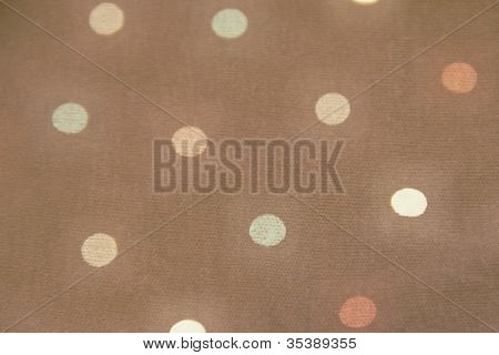 Retro Dot fabric background