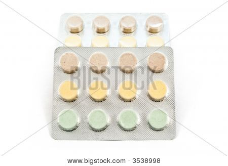 Blister With Drugs And Pills