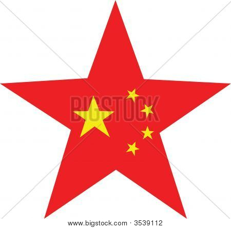 China Flag Star