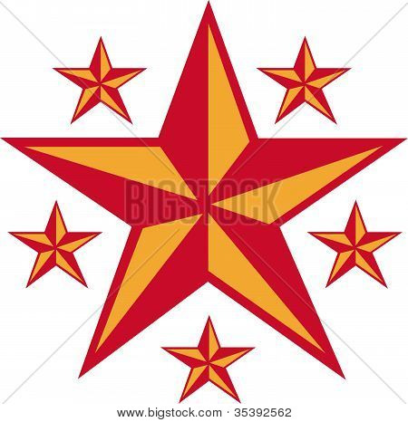 Star Tattoo Design