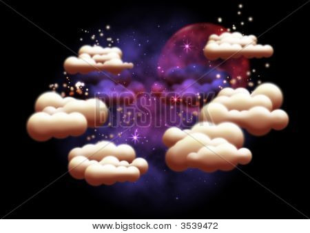 Fantasy Night Sky