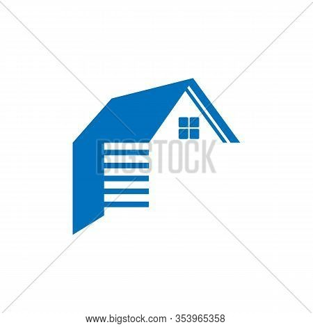 Garage Icon Isolated On White Background. Garage Icon Simple Sign. Garage Icon Trendy And Modern Sym