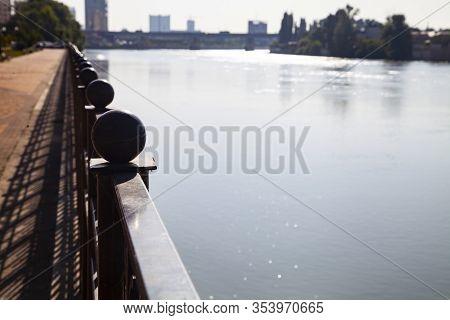 Embankment Of The Kuban River, Krasnodar, Russia. Embankment Of The Kuban River, Krasnodar, Russia.