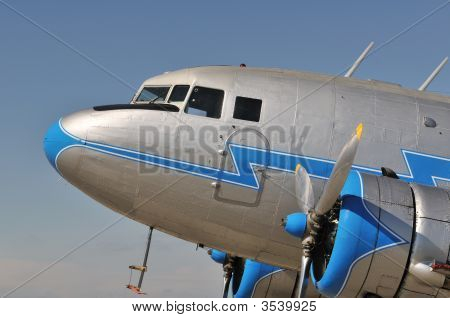 Old Airplane Nose