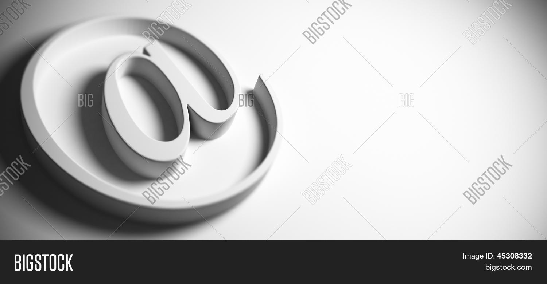 Symbol Email Address Image Photo Free Trial Bigstock