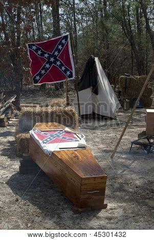 Confederate Coffin