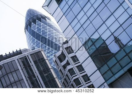 The Gherkin St Marys Axe London