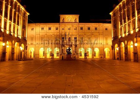 Turin City Hall Building