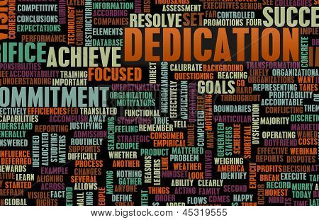 Dedication and Sacrifice for Your Own Goals